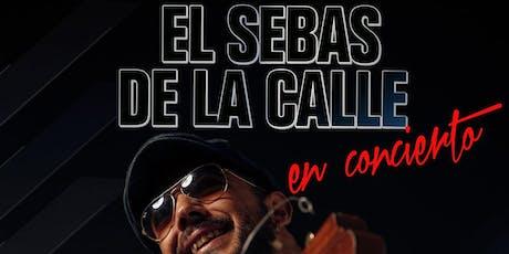 SEBAS DE LA CALLE  SALA CARACOL entradas