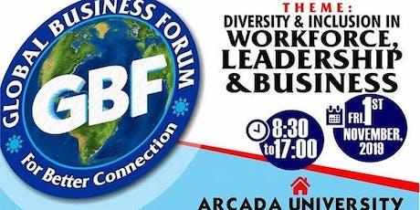 GLOBAL BUSINESS FORUM-FINLAND tickets