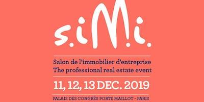 Certivéa au SIMI 2019 -  Conférence : Nouveaux modes de travail, espaces...