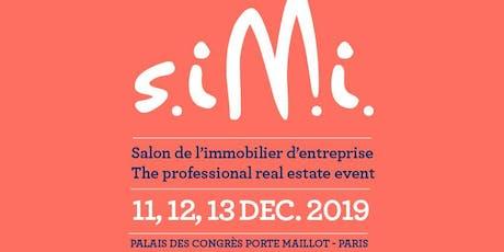 Certivéa au SIMI 2019 -  Conférence : Nouveaux modes de travail, espaces... billets