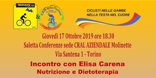 """Nutrizione e Dietoterapia - DAL DIVANO ALLA BICI IL """"PASTO"""" E' FACILE"""