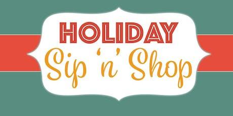 2019 Holiday Sip 'n' Shop tickets