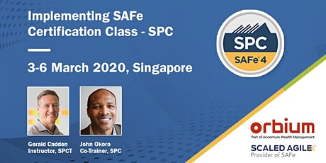 Implementing SAFe 5.0 - SPC Certification Class, Singapore tickets