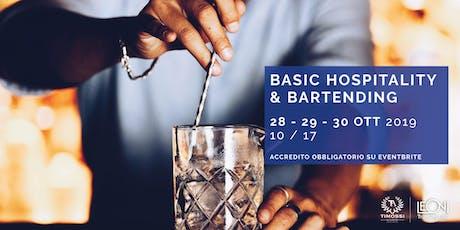 Basic Hospitality & Bartending biglietti