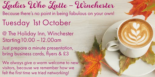 Ladies Who Latte – Winchester
