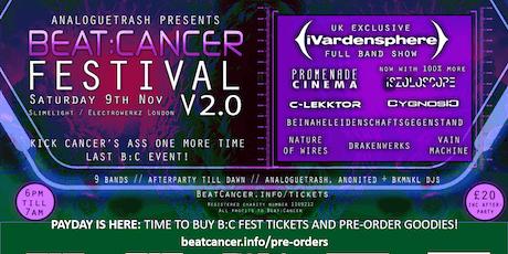 Beat:Cancer Fest v2.0 feat. iVardensphere, C-Lekktor, Cygnosic + 6 more! tickets