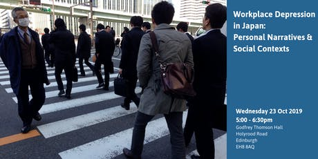 Workplace Depression in Japan: Personal Narratives and Social Contexts tickets