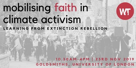 Mobilising Faith in Climate Activism: Learning from Extinction Rebellion tickets