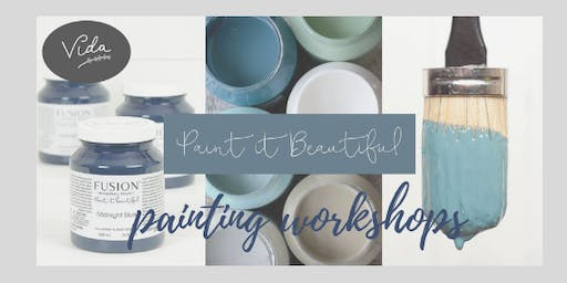 Brush Strokes - Introduction to Furniture Painting
