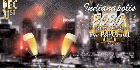 Indianapolis NYE Bar Crawl tickets
