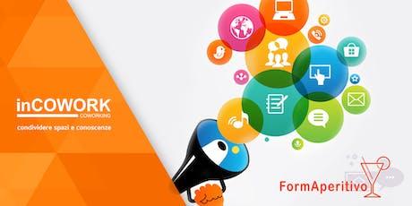 Promuovi la tua azienda online - FormAperitivo biglietti