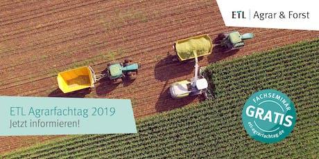 ETL Agrarfachtag Niederfinow 07.11.2019 Tickets