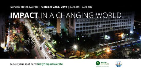 Impact in a Changing World tickets