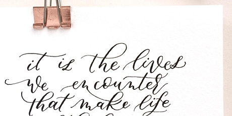 Modern Calligraphy - Improvers tickets