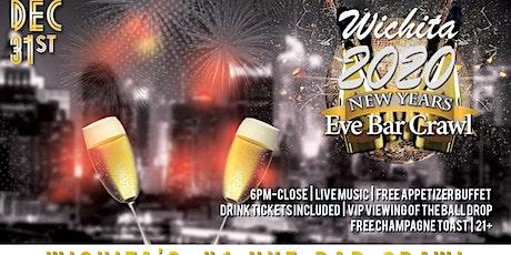 Wichita NYE Bar Crawl tickets