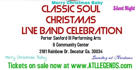 Classic Soul Christmas tickets