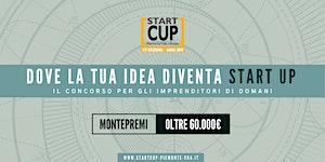 Premiazione START CUP Piemonte Valle d'Aosta 2019