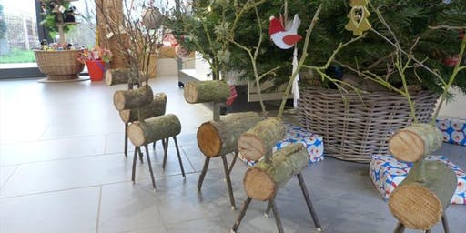 Hengistbury Head: Reindeer Making. 24/11/19 .14:10pm