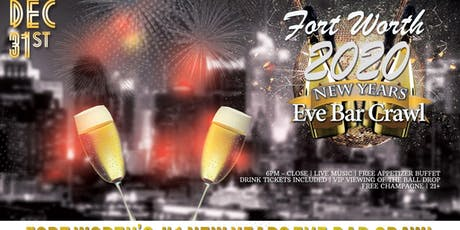 Forth Worth NYE Bar Crawl tickets