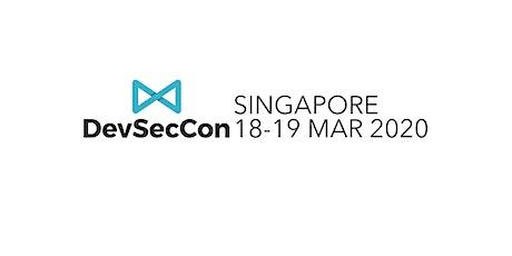 DevSecCon Singapore 2020 tickets