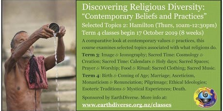 "Religious Diversity class: ""Contemporary Practice: Selected Topics 2"" tickets"