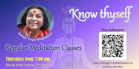 Free Sahaja Yoga Meditation Omagh tickets