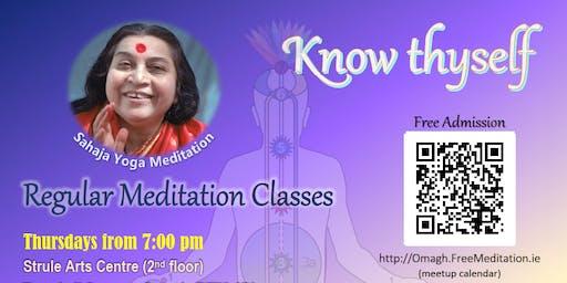 Free Sahaja Yoga Meditation Omagh