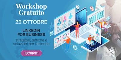 LinkedIn for Business -> Workshop GRATUITO