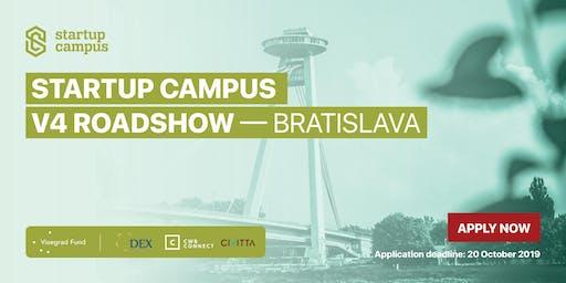 Startup Campus V4 Roadshow - Bratislava