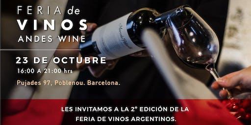 Feria de vinos Andes Wine