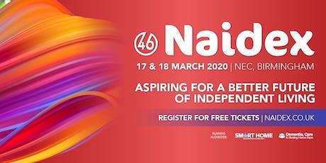 Naidex tickets
