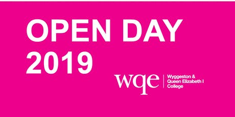 WQE Open Day 2019 tickets