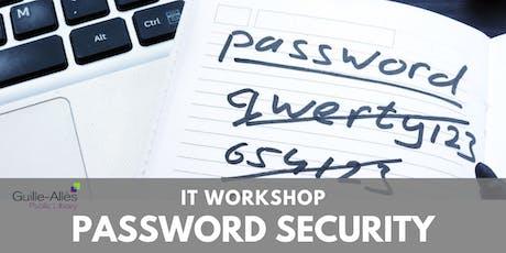 IT Workshop: Password Security tickets