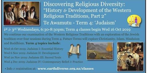"Te Awamutu: ""Discovering Religious Diversity: Judaism"""