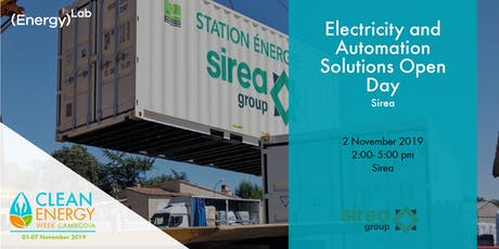 Sirea - Electricity and Automation Solutions Open Day tickets
