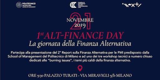 1° Alt-Finance Day - La giornata della Finanza Alternativa