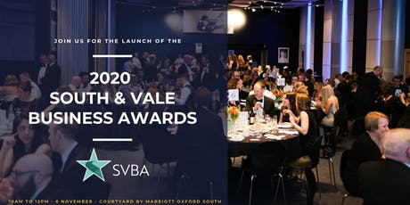South and Vale Business Awards 2020 - Launch Event tickets