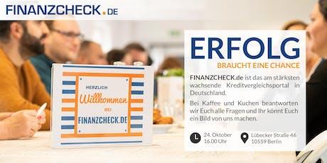 Bewerberkaffee tickets