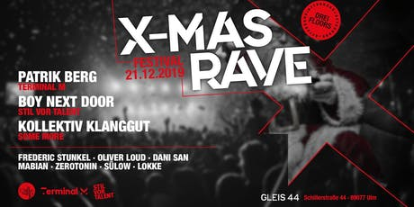 X-MAS RAVE 2019 Tickets