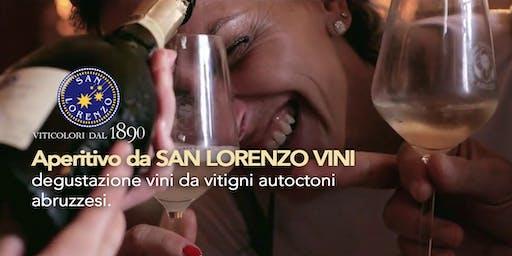 Aperitivo da San Lorenzo Vini - degustazione d'Abruzzo