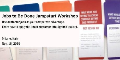 Jobs to Be Done Jumpstart Workshop tickets