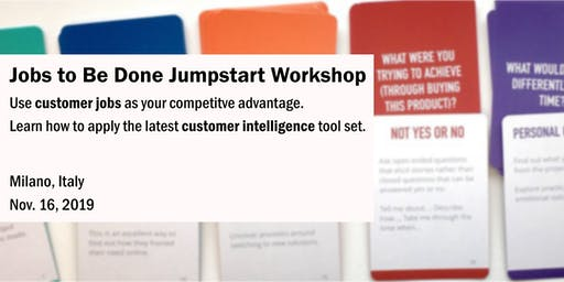 Jobs to Be Done Jumpstart Workshop