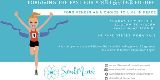 Forgiving the past for a brighter future