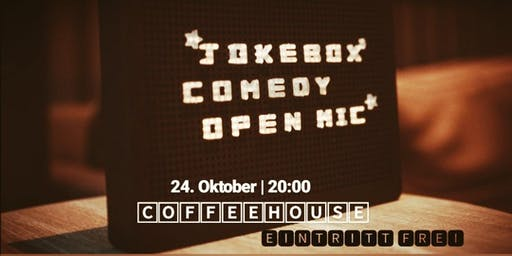 Jokebox | DAS Comedy Open Mic @Coffeehouse