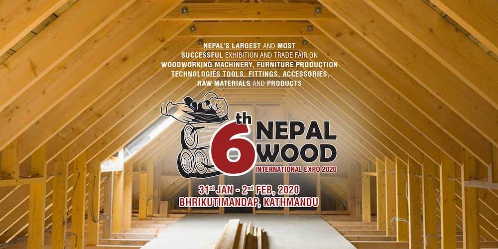 Woodworking Show 2020.6th Nepal Wood International Expo Tickets Fri Jan 31 2020