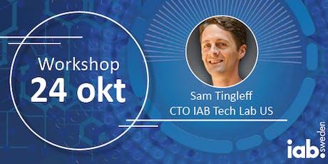 Workshop med IAB Tech Lab biljetter