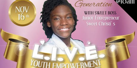 LIVE Youth Empowerment Brunch & Conference tickets