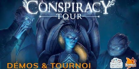 Conspiracy Tour – TOURNOI – L'AmuZ'Mans - Jeudi 24 octobre - 20 h billets