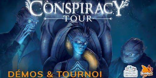 Conspiracy Tour – TOURNOI – L'AmuZ'Mans - Jeudi 24 octobre - 20 h