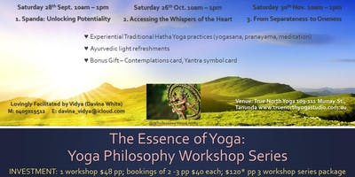 Essence of Yoga Workshop 3: From Separateness to Oneness